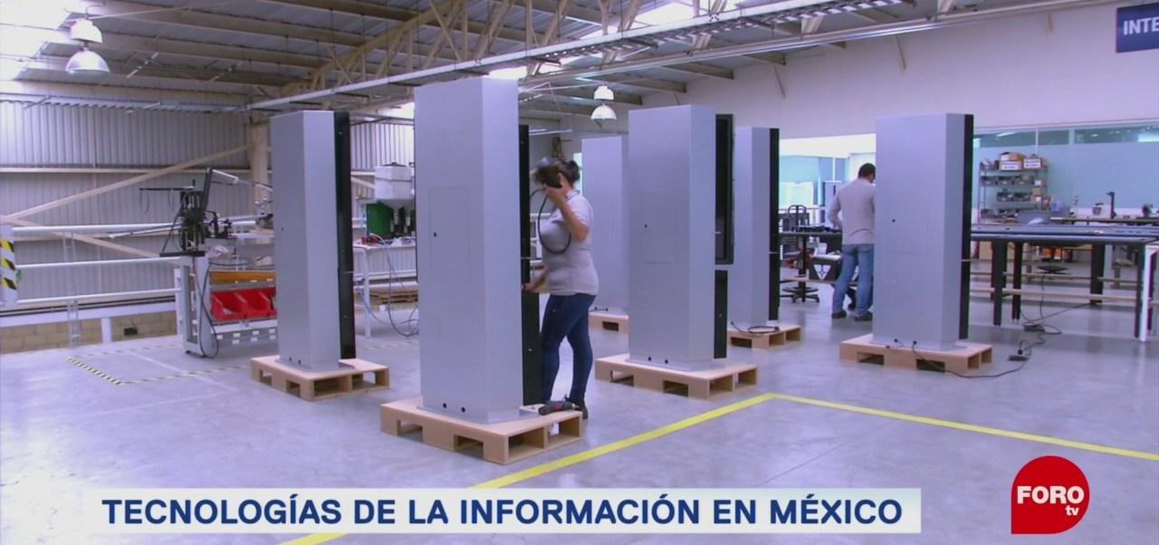 FOTO: Empresa mexicana fabrica equipo para las tecnologías de la información, 27 ABRIL 2019