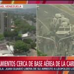 Enfrentamientos cerca de base aérea de La Carlota, en Caracas