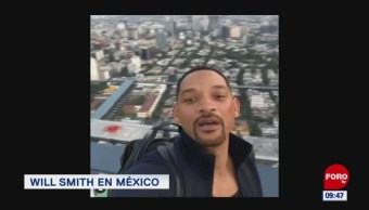 #EspectáculosenExpreso: Will Smith en México