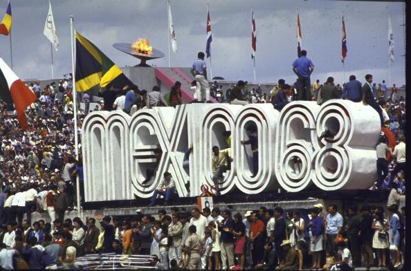 foto estadio ciudad universitaria mexico 1968 getty images 01 de octubre de 1968