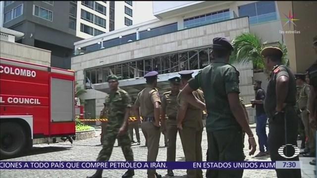Estado Islámico asume autoría de atentados en Sri Lanka