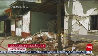 Foto: Estragos Sismo Jojutla Morelos 8 de Abril 2019