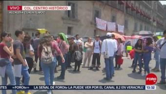 Foto: Estudiantes de la UAM protestan contra huelga