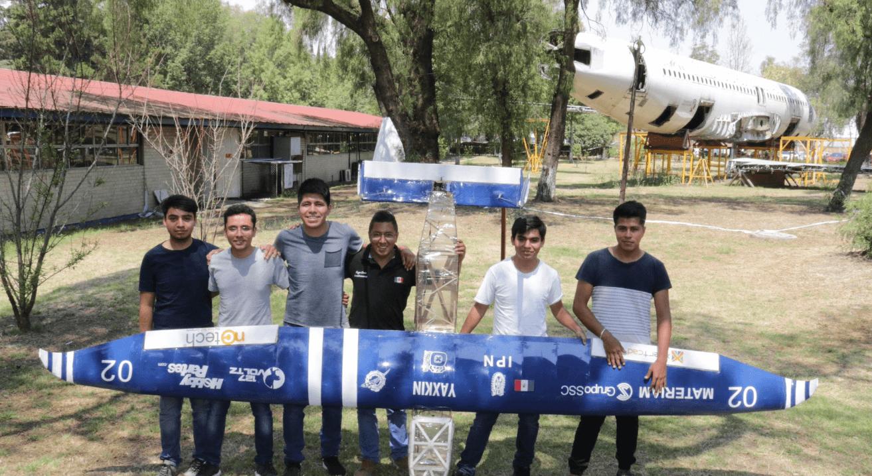 FOTO Estudiantes IPN ganan competencia internacional de aeronáutica 2018 cdmx