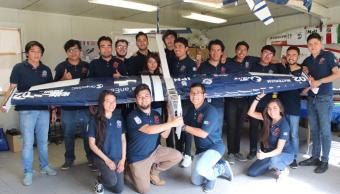 FOTO Estudiantes del IPN ganan la competencia internacional de aeronáutica SAE Aerodesign (Grupo Miled abril 2019 nuevo leon)