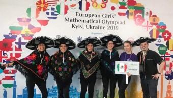 foto Estudiantes mexicanas triunfan en Olimpiada Europea Femenil de Matemáticas 12 abril 2019