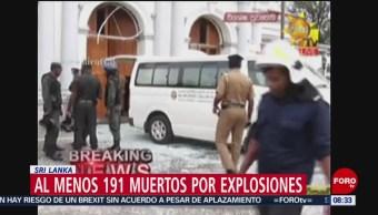 FOTO: Explosiones en Sri Lanka dejan cientos de muertos, 21 ABRIL 2019