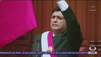 Expresidente de Perú dejó carta donde explica suicidio