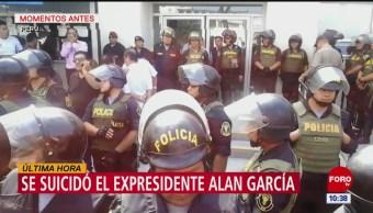 Expresidente peruano Alan García se quita la vida