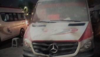Incendian dos unidades de transportes público en Ecatepec