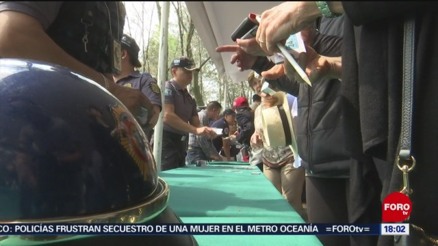 FOTO: Feria de seguridad en Lomas de Chapultepec en la CDMX, 6 de abril 2019