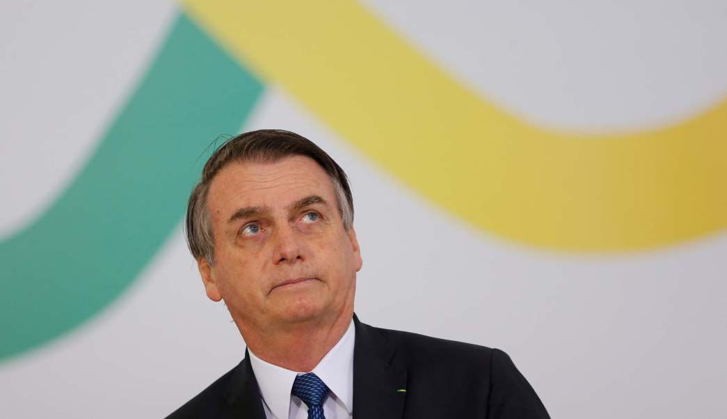 Foto: Jair Bolsonaro, presidente de Brasil. El 11 de abril de 2019