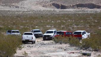 Foto: Autoridades de Chihuahua encontraron restos humanos cerca del Cerro del Caballo. El 24 de abril de 2019