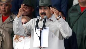 Foto: El presidente de Venezuela, Nicolás Maduro, habla durante un evento en Caracas. El 13 de abril de 2019