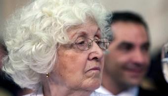 Foto: Ofelia Wilhelm, mamá de la expresidenta argentina Cristina Fernández. El 10 de diciembre de 2011