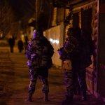 Foto: Militares rusos custodias las calles durante un operativo antiterrorista en la ciudad de Tiumén, en Siberia. El 12 de abril de 2019