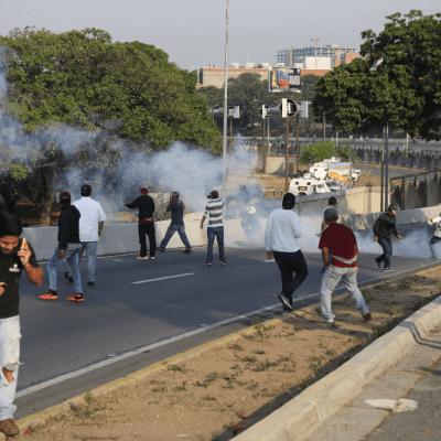 Vicepresidenta de Venezuela afirma que derrotarán el 'golpe de Estado'
