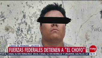 Foto: Fuerzas federales detienen a 'El Chofo'