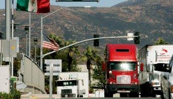 FOTO Cierran dos carriles en garita comercial Otay Mesa (San Diego Informer california abril 2019)