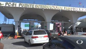 Mejoran tiempos de tránsito en la garita de Ciudad Juárez