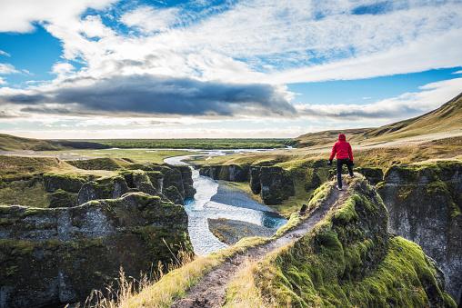foto Fjadrargljufur, Islandia