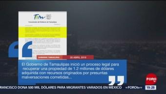 FOTO:Gobierno de Tamaulipas busca recuperar propiedad, 28 ABRIL 2019