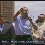 FOTO: Guaidó encabeza marcha en calles de Venezuela, 6 de abril 2019