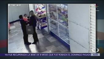 FOTO: Hallan a la bebé robada en el Hospital General, 19 ABRIL 2019