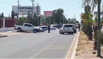 Enfrentamiento entre presuntos delincuentes y policías deja seis muertos en Sonora