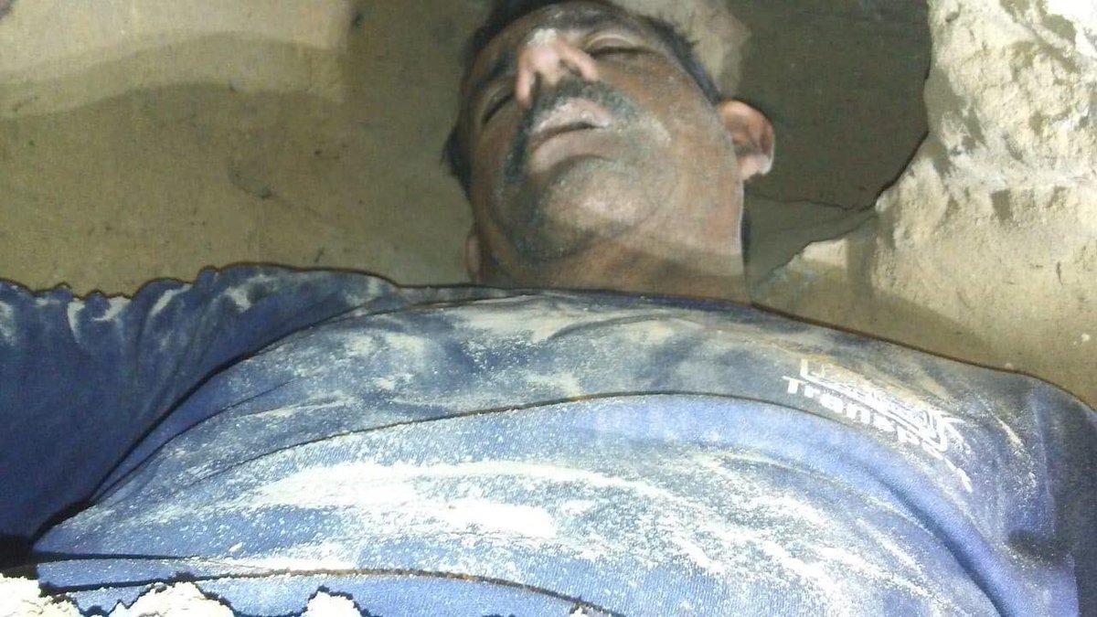 foto hombre cava tunel sonora 25 abril 2019