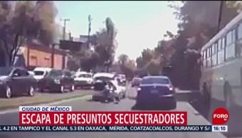 Foto: Hombre logra salir de cajuela en movimiento en CDMX