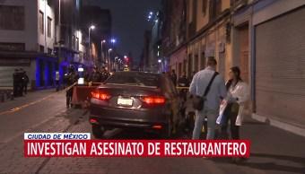 Foto: Homicidio de restaurantero en CDMX, podría tratarse de un cobro de piso