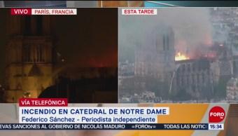 Foto: Horror, tristeza y tragedia invade a parisinos: Federico Sánchez