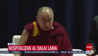 Foto: Hospitalizan de emergencia al Dalai Lama