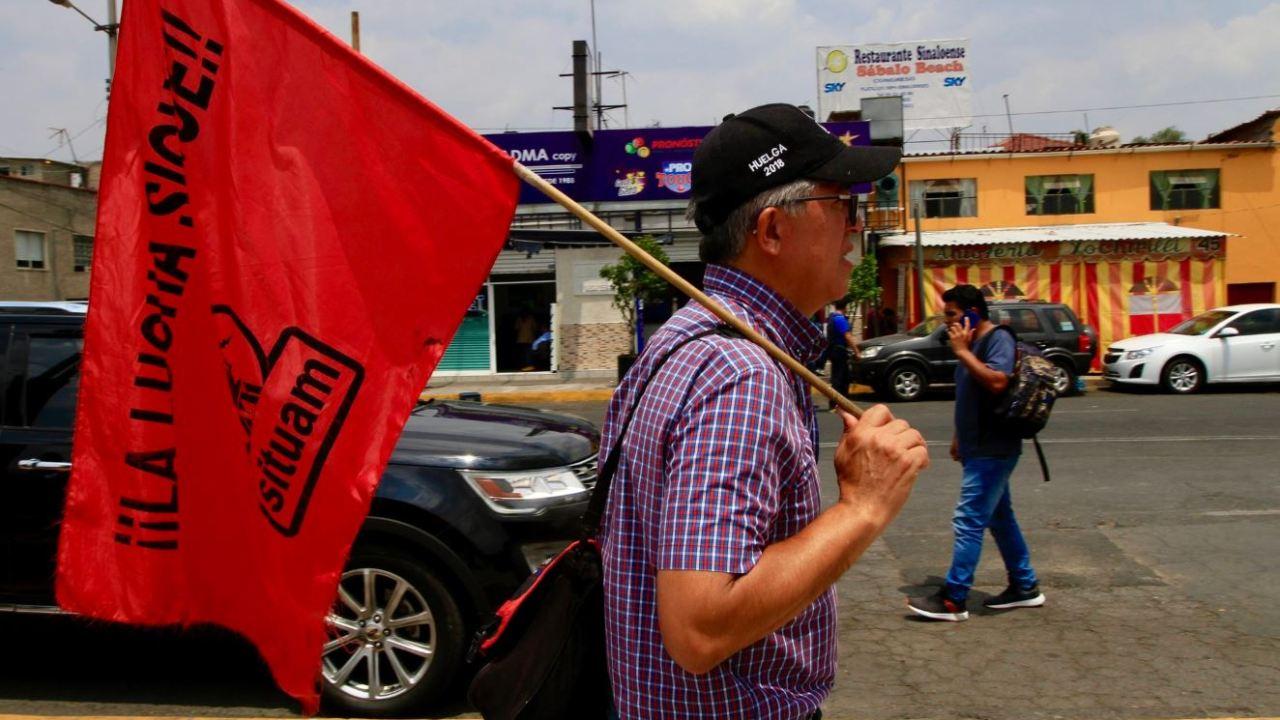 Autoridades de la UAM ofrecen conferencia, pero se suspende por protesta del sindicato