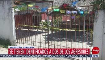 Identifican a dos autores de masacre en Minatitlán, Veracruz