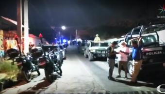 FOTO Identifican a dos autores de la masacre en una palapa de Minatitlán, en Viernes Santo (Noticieros Televisa abril 2019)
