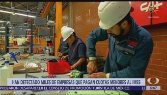 IMSS detecta empresas que pagan cuotas menores a salarios