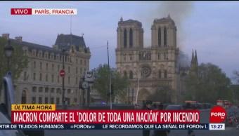Foto: Incendio en la Catedral de Notre Dame, en París (Parte 2)