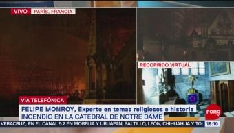 Foto: Incendio en la Catedral de Notre Dame, en París (Parte 3)
