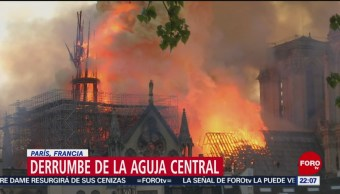 Foto: Incendio Catedral Notre Dame Golpea Entrañas París 15 de Abril 2019