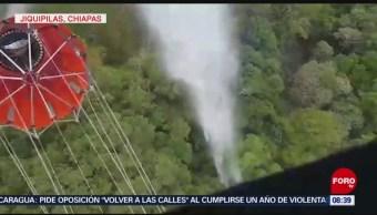 FOTO: Incendios activos en Jiquipilas, Chiapas, 13 de abril 2019