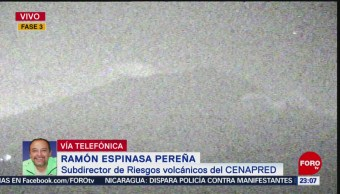 FOTO:Incremento en actividad del Popocatépetl se debe a alta temperatura: Cenapred 20ABRIL 2019