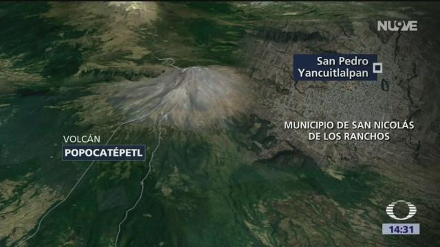 Foto: Inician reparación de rutas de evacuación del volcán Popocatépetl