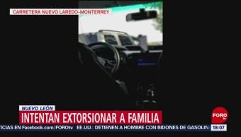 FOTO: Intentan extorsionar a familia en carretera Nuevo Laredo-Monterrey, 18 ABRIL 2019