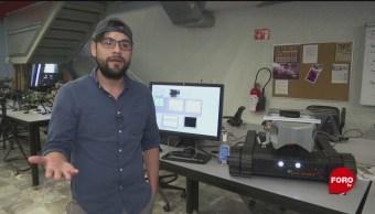FOTO: Investigadores mexicanos diseñan robots de rescate, 6 de abril 2019