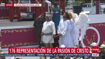 FOTO: 'Jesús' es sometido a juicio en Iztapalapa, 19 ABRIL 2019