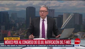 Foto: Jesús Seade solicita ratificación del T-MEC al Congreso de EU