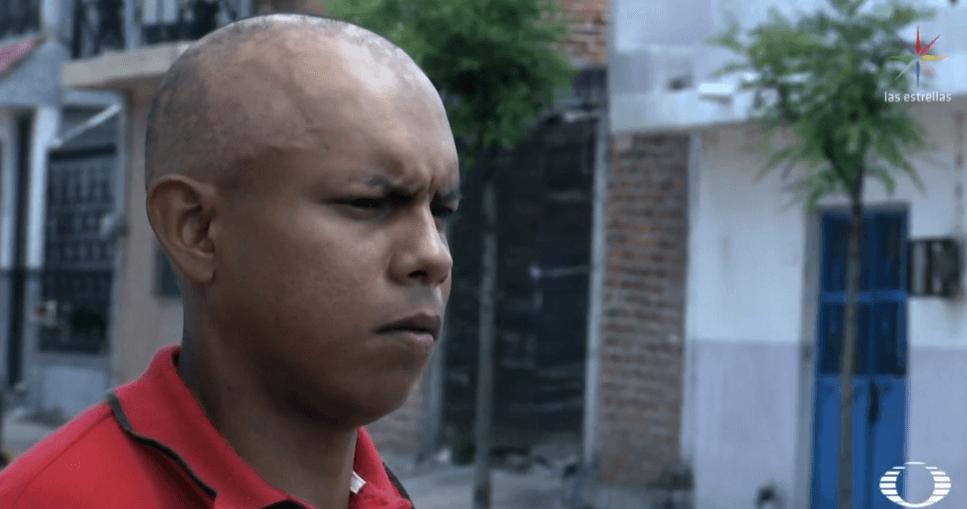 Foto: Jhovany Álvarez García, exsoldado mexicano, marzo de 2019, México