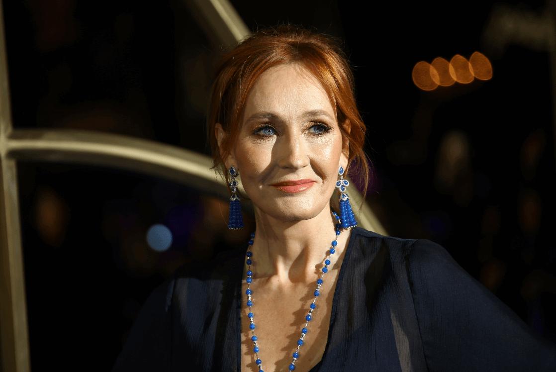Foto: La escritora británica JK Rowling, 13 de noviembre de 2018, Londres, Inglaterra